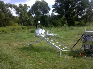 Department of Energy portable work platform