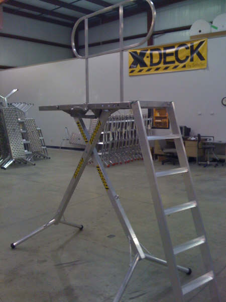 X-Deck detachable ladder